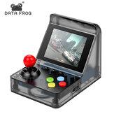 DATA FROG 32 Bit Embutido 520 Jogos Retro Arcade Mini Console de videogame portátil com tela de 3.0 polegadas LCD