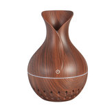 7 Colors USB Wood Grain Humidifier Essential Oil Diffuser