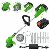 88V elektrische snoerloze grastrimmer-snoeischaar Cutter Garden Edger   1/2 batterij