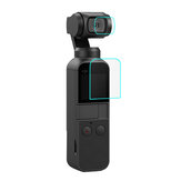PULUZ PU376 Screen Lens Protector Protective Tempered Glass Film for DJI OSMO Pocket Gimbal Camera