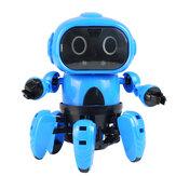 MoFun DIY Stem 6 Legged Gesture Sensing Infrared Éviter Obstacle Marcher Robot Jouet