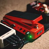 JOYO WAH-II Classic and Multifunctional WAH Pedal Featuring Wah-Wah/Volume Functions with WAHWAH Sound Quality Value knob
