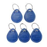 5 Adlı Kimlik Keyfoşları RFID Etiket Anahtarlık Kartı 125KHZ Proximity Token Erişim Kontrolü Seyirci TK4100