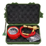 Tyre Deflator Rapid Tyre Air Pressure Gauge Pointer Dial Valve Tool Kit