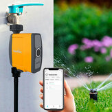 WIFI Connection Automatic Smart Irrigation System Watering Timer Soil Moisture Sensor Garden Irrigation Controller