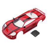 Corps de voiture Firelap Sports Car RC Pour 1/28 Das87 Wltoys Mini-Q RC modèle véhicule rouge