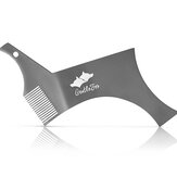 Stainless Steel Beard Shaping and Styling Template Comb