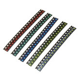 1000Pcs 5 Colors 200 Each 0805 LED Diode Assortment SMD LED Diode Kit Green/RED/White/Blue/Yellow