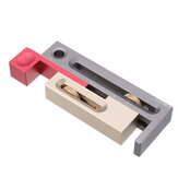 HONGDUI Table Saw Slot Adjuster Mortise and Tenon Tool Woodworking Movable Measuring Block