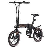 [EU Direct] Niubility B16 10.4Ah 36V 350W 16 inch Opvouwbare bromfiets 25km/h Topsnelheid 40-50KM Kilometerstand Elektrische fiets E-bike