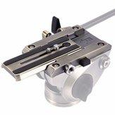 PULUZ PU3502 Schnellwechselklemme Adapter Schnellwechselplatte für DSLR SLR Kamera