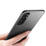 Bakeey Pure Silky Smooth Shockproof Ultra-thin Soft TPU Protective Case Back Cover for Xiaomi Mi Note 10 Lite Non-original