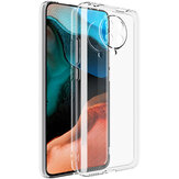 Bakeey for Xiaomi Poco F2 Pro Case Shockproof Lens Protect Transparent Non-yellow Soft TPU Protective Case