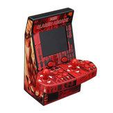 183 i 1 Mini Double Player Dual Gamepad Spelkonsol Spel Enhetsstöd TF Card