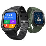 [50 Days Standby]Kospet Rock 1.69 Inch Large Screen Heart Rate Blood Pressure SpO2 Monitor 20 Sport Modes bluetooth 5.0 Three-proof Outdoor Smart Watch