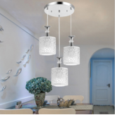 Modern Flower Petal Ceiling Light LED Pendant Lamp Dining Chandelier Room Decor