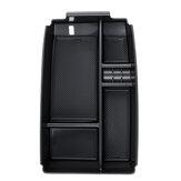 Подлокотник центральной консоли автомобиля Органайзер Поднос для хранения Коробка Черный для Ford Escape