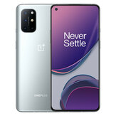 OnePlus 8T 5G Global Rom NFC Android 11 12 GB 256 GB Snapdragon865 6,55 cala FHD + HDR10 + 120 Hz Płynny ekran AMOLED 48MP Quad Camera 65W Warp Charge Smartphone