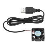 Radiador del ventilador de refrigeración de la fuente de alimentación de 5 V con interfaz USB para Láser Módulo Disipador de calor