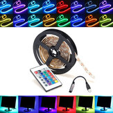 0,5 / 1/2/3/4 / 5M RGB SMD5050 LED Strip Tape Light TV Backlilghting Kit + USB Remote Control DC5V