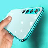 Bakeey for Xiaomi Mi10 Mi 10 Case 2 in 1 تصفيح عدسة حماية رقيقة جدا المضادة لبصمات الأصابع للصدمات شفافة Soft TPU واقية حالة غير أصلية