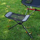 CLS Camping Chair Retractable Footrest Portable Folding Connectable Chair Rest Backpack Outdoor Fishing Chairs Foot Rest