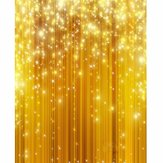 5x7FT Or Glitter Vinyl Studio Photographie Backdrop Props Photo Fond d'écran