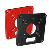 Placa de inserção de mesa de roteador de liga de alumínio Placa de corte de máquina para bancadas de carpintaria Placa de mesa de roteador Rt0700c