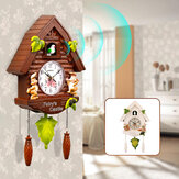 Modern Quartz Cuckoo Clock Bird Home Living Room Hanging Wall Clocks Decoration
