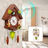 Orologio a cucù moderno al quarzo Orologio da parete per uccelli Soggiorno Soggiorno Appesi Orologi da parete Decorazione