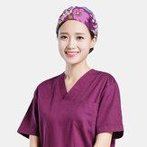 Хирургические хирургические шапки с цветочным принтом и цветочным принтом Elegance Шапка