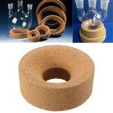 80 * 30 * 30mm Cork Mat Lab Stand Ring Ronde Bodem Voor 50 ml-250 ml Kolf Glas Experimentele Apparatus