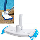 Durable Microfiber Outdoor Swimming Pool Curved Vacuum Cleaner Suction Head Bath Shower Pool Wall Floor Cleaning Brush Tools