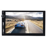 7 بوصة Double Usb مدخل 2.1A Fast شحن Double Spindle Car MP5 Player عرض Reversing الة تصوير