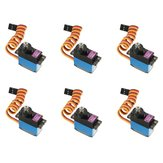 6PCS MG90D 13g Metal Gear Digital Servo For RC Models