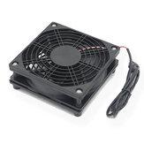 5 V USB Roteador Ventilador de TV Caixa Cooler 120mm PC DIY Cooler Parafusos de Proteção Net Silent Desktop Cooling Fan