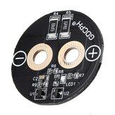 3Pcs 2.7V 500F Super Capacitor Placa de Circuito Farad Capacitor Regulador de Tensão Placa de Circuito com Pé Parafuso