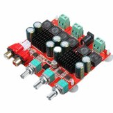 SANWU TPA3116 2.1 Versión DC 12-26V Power Amplificador Board 2x50 + 100W 3 canales Digital Speaker Power Amplificador Board