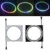 WS2812B 45 Bits 5050 RGB FAI DA TE LED Anello striscia modulo lampada Luce con scheda driver integrata DC5V