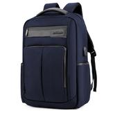 18 дюймов Рюкзак USB для зарядки ноутбука Сумка Мужское плечо Сумка Деловой повседневный рюкзак для путешествий B00121C