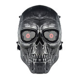 WoSporT Skull Face Maschera Airsoft CS Paintball Tattico Militare Halloween Costume Party