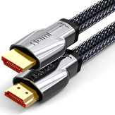 SAMZHE 4K @ 60Hz HDMI 2.0 Cable HDMI to HDMI Cable إيثرنت Cable for PS3 Projector عالي الوضوح LCD Apple TV Computer Laptop to Displayer