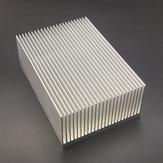Алюминиевый сплав Радиатор охлаждения для высокой мощности LED IC чип-охладитель Радиатор радиатора 69 * 37 * 69 мм / 100 мм / 150 мм / 200 мм / 300 мм допол