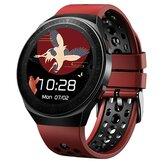 Bakeey MT3 Reproductor de música Pantalla redonda completa Pulsera Bluetooth Llamada Corazón Tasa Monitor Grabación Conectar con TWS Reloj inteligente de audio