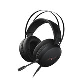 Rapoo VH310 Game Headset 7.1 Virtuel Surround Channel RGB Gaming Headphones ENC Støjreduktionsmikrofon 50MM
