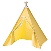 Kids Tent Cotton Canvas Children Play Tent House Game House Boy Girls Gift