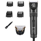 12V Pet Barber Shave Navalha 2 Gear Professional Pet Cat ajustável Cachorro Cabelo Grooming Trimmer Clipper Kit