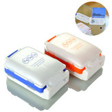 IPRee® 7 Days Weekly Pill Case Degradable Portable Mini Partition Travel Outdoor Three Stage Pill Box Small Storage Kit