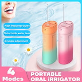 Bakeey Oral Irrigator Hand-held Portable Electric Tooth Cleaner 160ml Capacity IPX6 Waterproof Automatic Power Off Water Floss