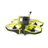 iFlight Protek35 analógico 3,5 polegadas 4S Cinewhoop Amarelo FPV Racing Drone PNP / BNF RaceCam R1 Mini Cam Succex Micro Force 5.8G 300mW VTX 2203.5 3600KV Motor Beast AIO F7 45A FC ESC